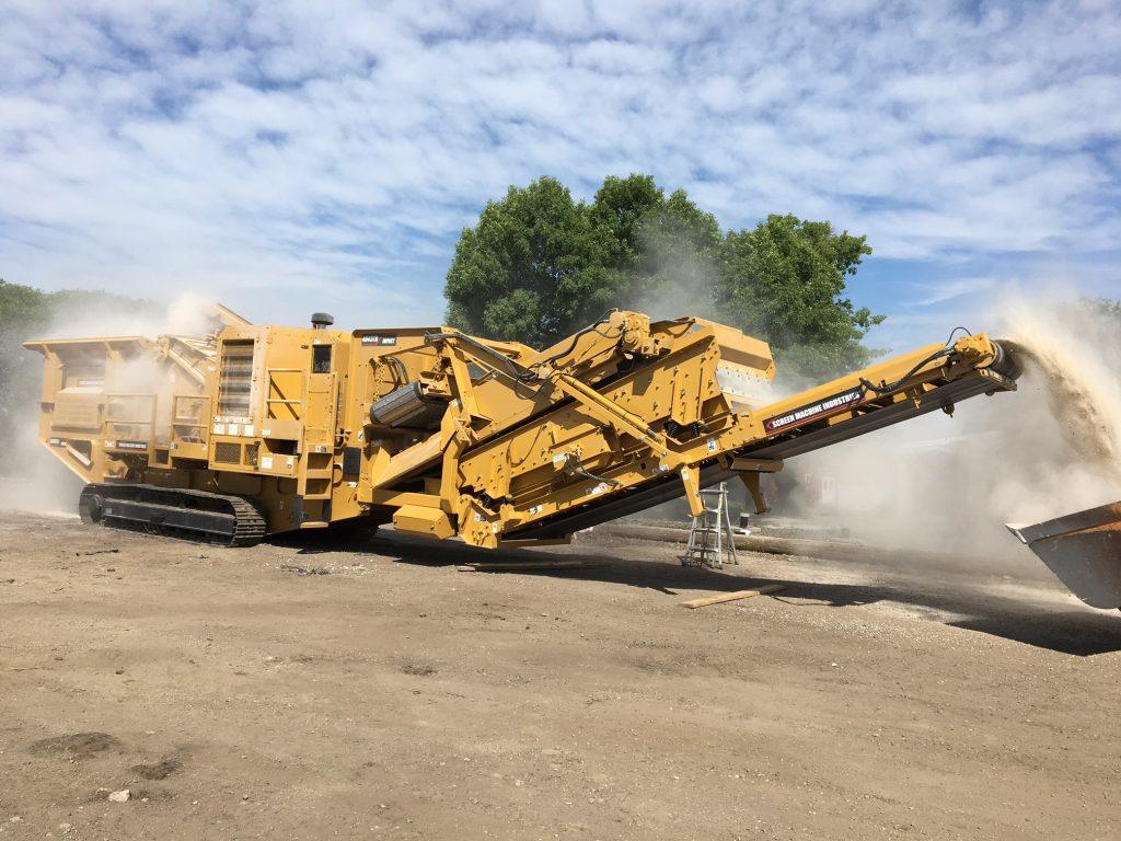 2017 Screen Machine Industries 4043TR Impact Crusher