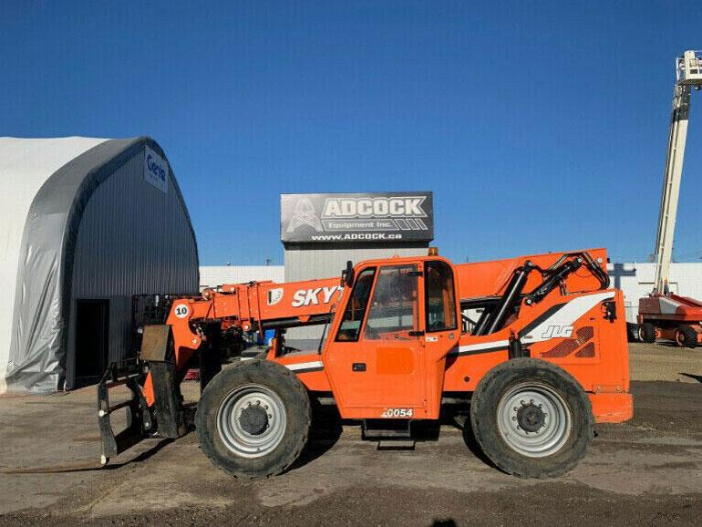 Adcock-2013-Skyjack-10054-Telehandler-2